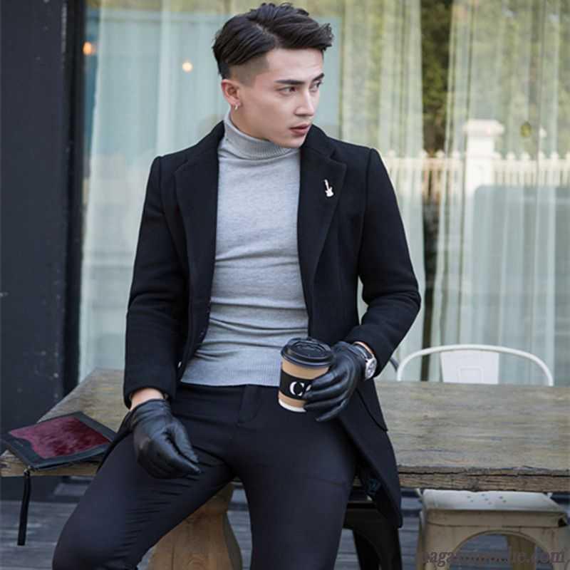 blouson mode homme la laine la mode homme slim coupe. Black Bedroom Furniture Sets. Home Design Ideas