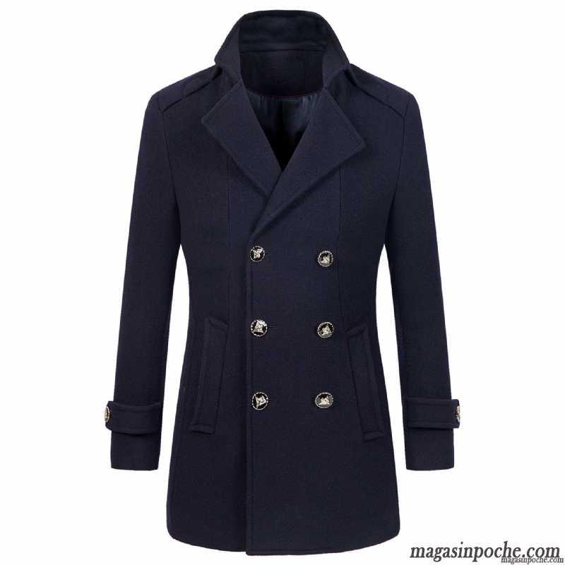 blouson pour homme de marque de laine pardessus la mode coupe vent d contract e homme manteau. Black Bedroom Furniture Sets. Home Design Ideas