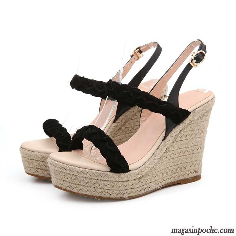 Épaisse Sandales Plateforme Chaussure De Semelle Été Femme W9IYED2H