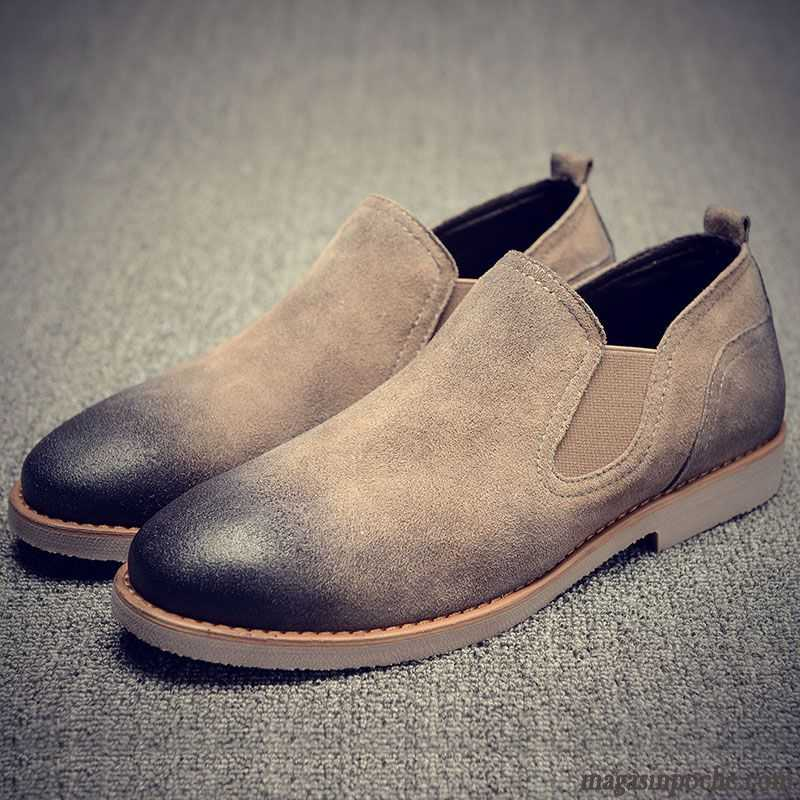 Daim Casual Tendance Slip Homme Mocassin Chaussure L On ZqAwF