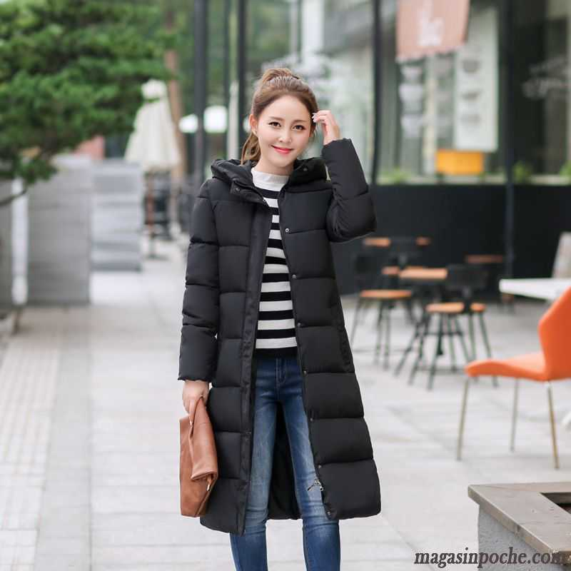 haute couture 3bd04 a2121 Doudoune Longue Grande Taille Femme Vêtements De Coton Renforcé Slim  Impression Femme Chauds Plus Longueur Manteau Hiver Blé