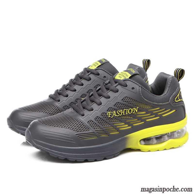 Basket Hommes et femmes chaussures de sport Chaussures de course Respirant- CasualChaussures - Blanc QSCcd