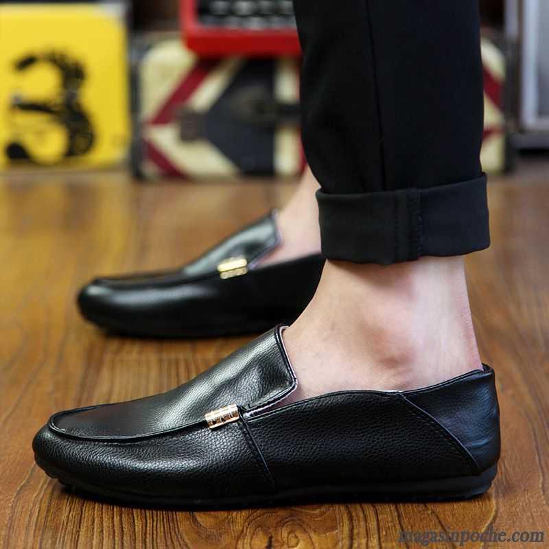 mocassin homme daim l 39 automne paresseux chaussures de conduite chaussures en cuir slip on homme. Black Bedroom Furniture Sets. Home Design Ideas