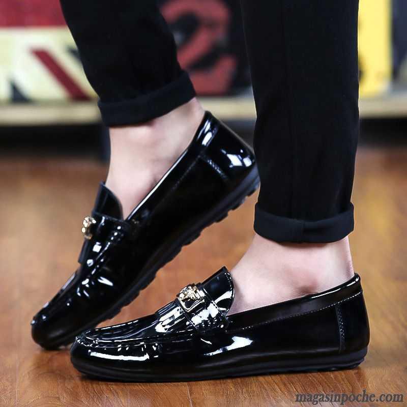En Mocassin Casual Marque Chaussures Paresseux Cuir Homme De xCC6wpnHq