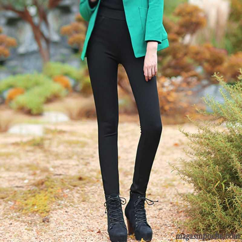 pantalon blanc femme taille haute impression taillissime. Black Bedroom Furniture Sets. Home Design Ideas