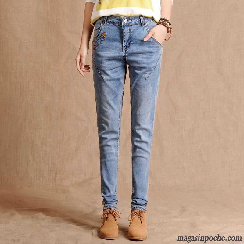 b2cfff49ce1ca Pantalon Enduit Gris Femme Femme Baggy Pantalon Jeans Harlan L'automne  Graisse Foncé Taillissime Maigre Neige