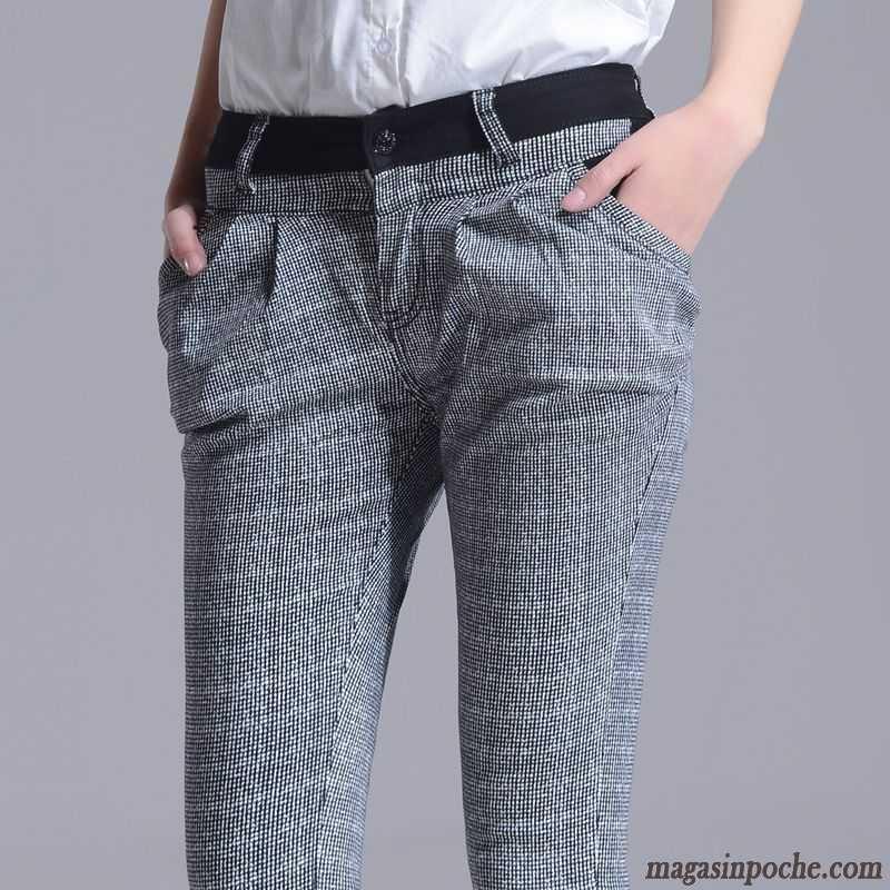 pantalon femme fleuri femme carreaux printemps pantalons d contract s slim tendance harlan fleur. Black Bedroom Furniture Sets. Home Design Ideas