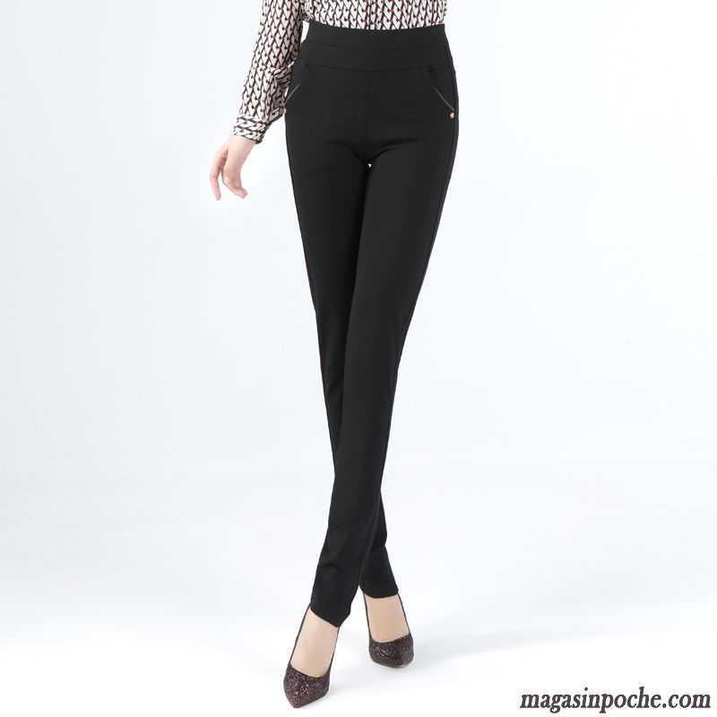 pantalon tailleur slim femme