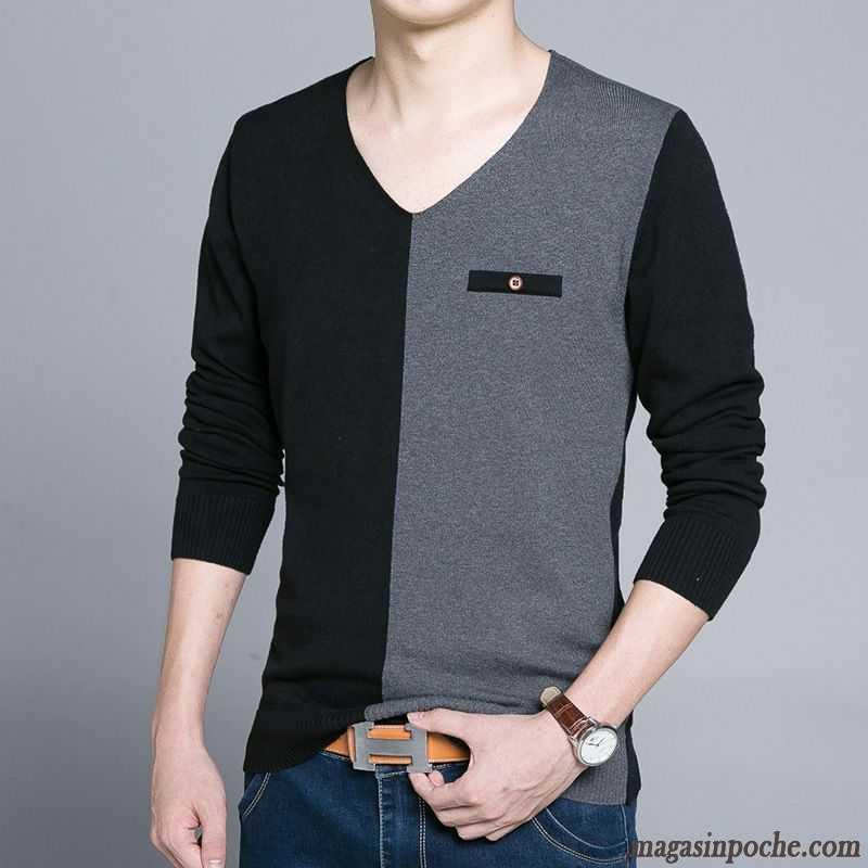 Veste  Ef Bf Bdmaille Homme Slim Fashion Color Ef Bf Bd