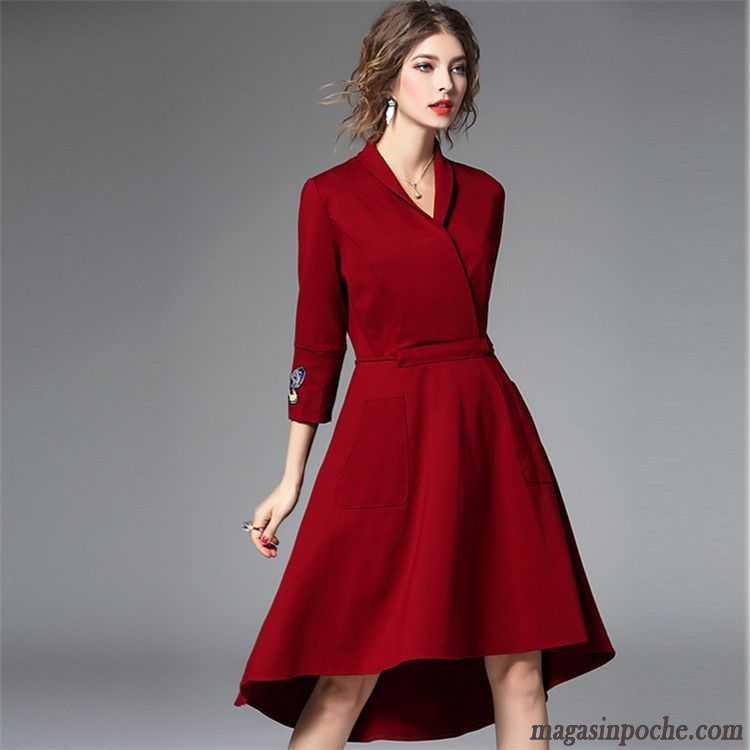 robe pour tous les jours femme l 39 automne forme haute. Black Bedroom Furniture Sets. Home Design Ideas