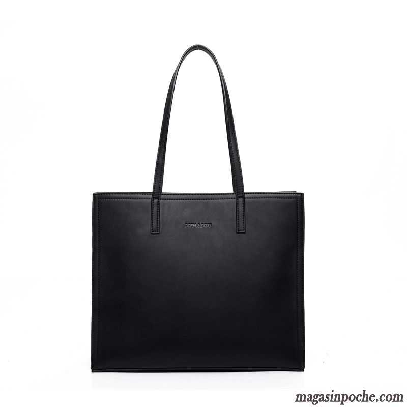 Meaeo Nouveau Sac À Main Sac À Main Sac Mode Loisirs Simple Toutes-Match,Black