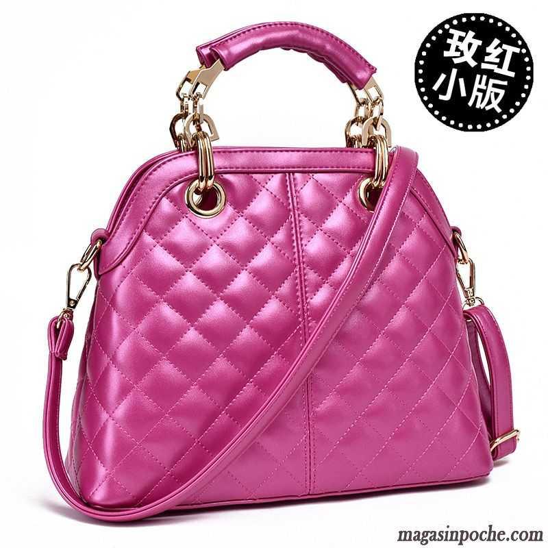 Sac à main femmes sac à bandoulière sac Messenger mode, violet