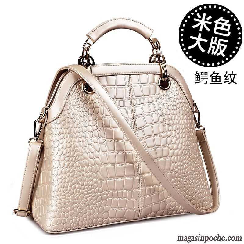 sac main cuir femme de marque tendance paquet shell. Black Bedroom Furniture Sets. Home Design Ideas