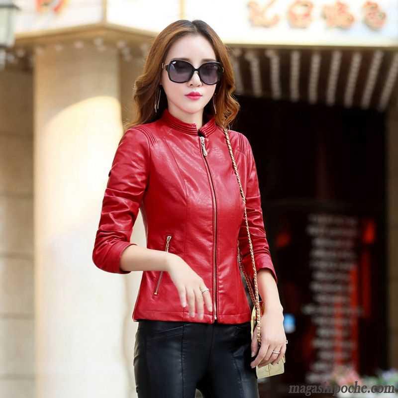 043e9e0ec64cc Vente Slim Sexy L automne Bien Mode Femme Manteau Blouson rPpO71rq