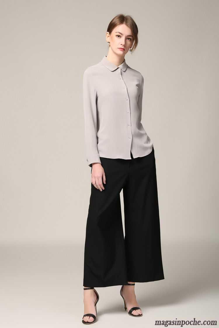 Chemise Blanche Manche Courte Femme Femme Blanc Chemise Manches Longues Une Veste Printemps Slim