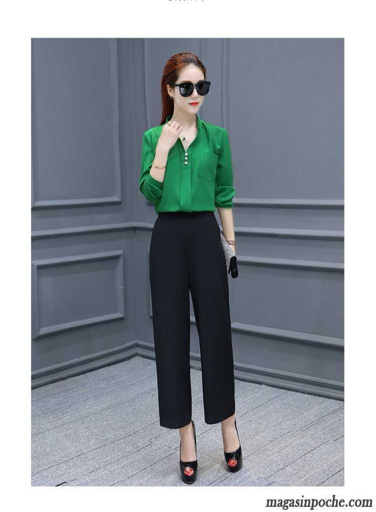 Chemisier soie femme grande taille l 39 automne col mandarin mince chemise tendance slim mode - Taille des rosiers automne ...