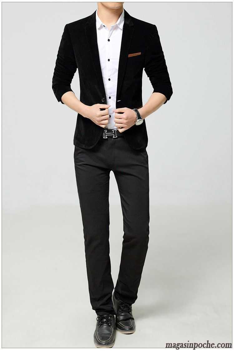 costume homme mode pardessus costume de travail veston taillissime homme l 39 automne smoking. Black Bedroom Furniture Sets. Home Design Ideas