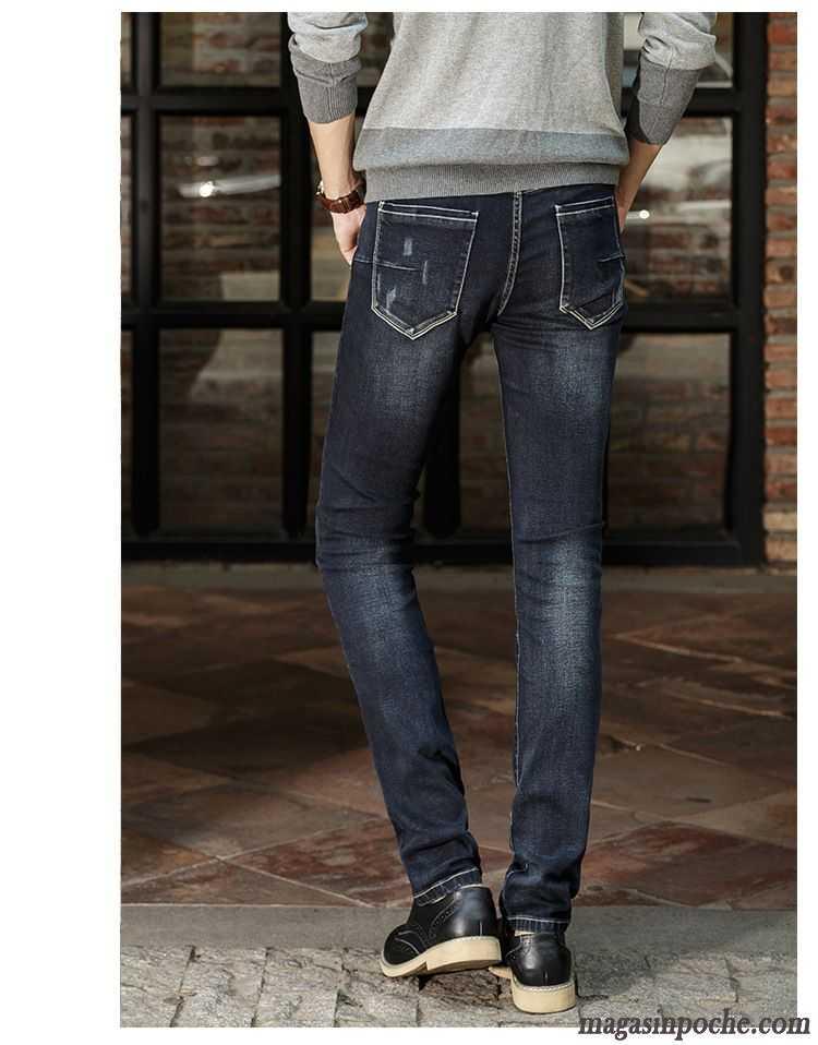 jean vert homme extensible printemps jeans d contract e mode slim ville pantalon l 39 automne homme. Black Bedroom Furniture Sets. Home Design Ideas