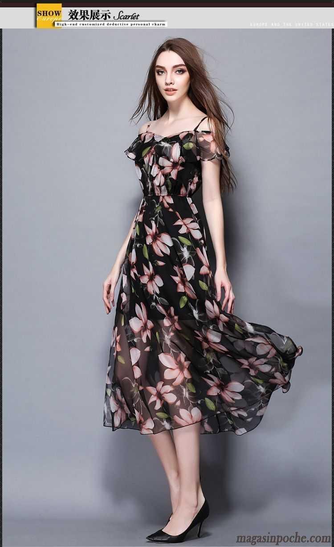 robe originale femme gros jupe longue femme bretelle t. Black Bedroom Furniture Sets. Home Design Ideas