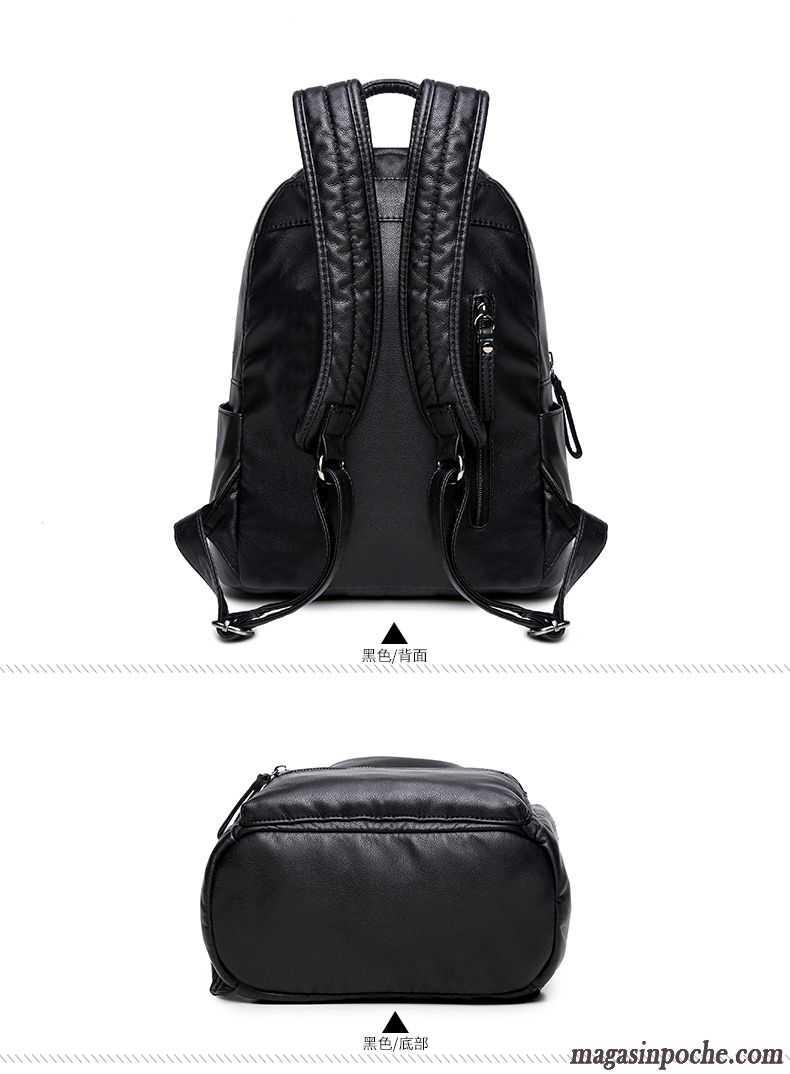 sac dos urbain femme voyage cartable loisir mode d. Black Bedroom Furniture Sets. Home Design Ideas