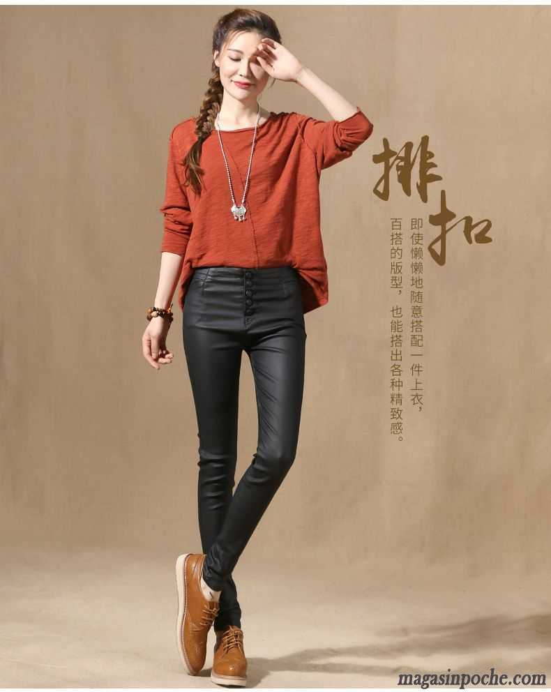 veste en jean femme large pu tendance pantalon l 39 automne. Black Bedroom Furniture Sets. Home Design Ideas