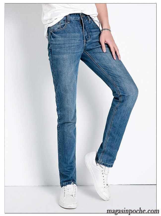 45a13775d4e Veste-En-Jean-Pas-Cher-Jeans-Pantalon -Mode-Tous-Les-Assortis-Tendance-Homme-Marque-L-automne-Turquoise-Pas-Cher-263-d2.jpg