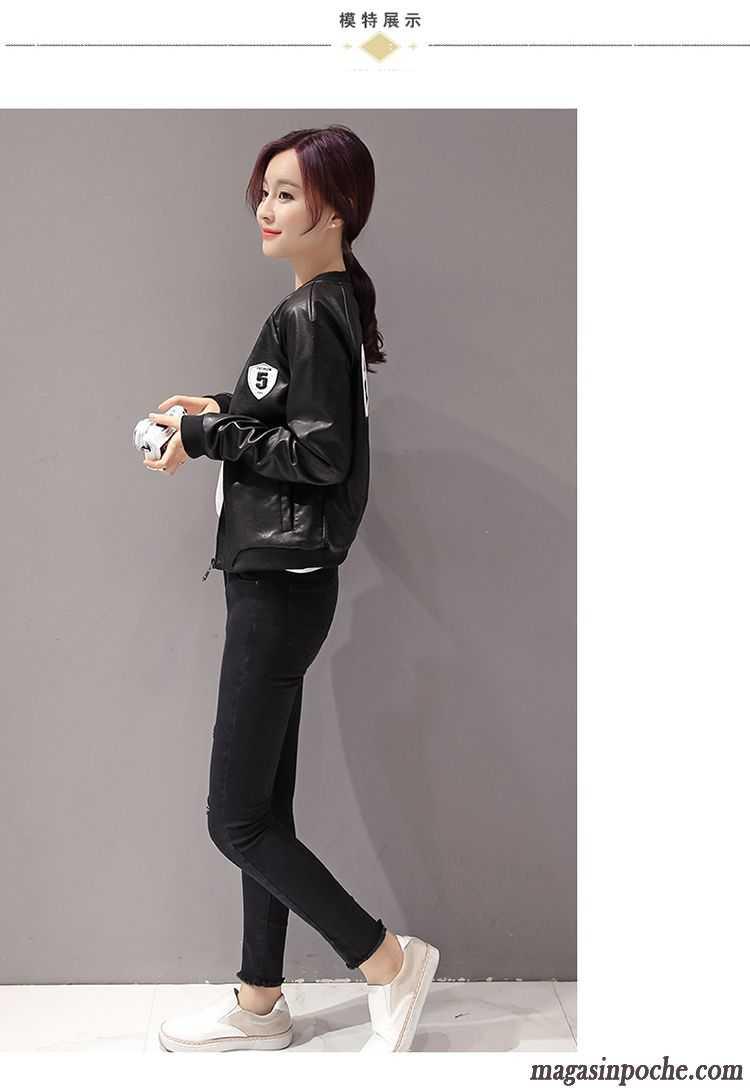 Veste Tendance Femme destiné veste tendance femme femme pardessus cuir l'automne veste slim