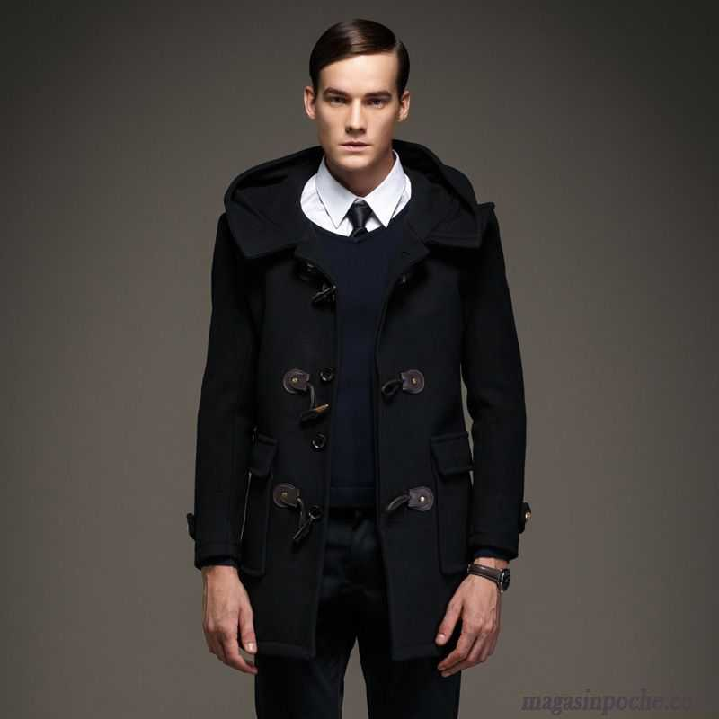 Manteau hiver homme laine