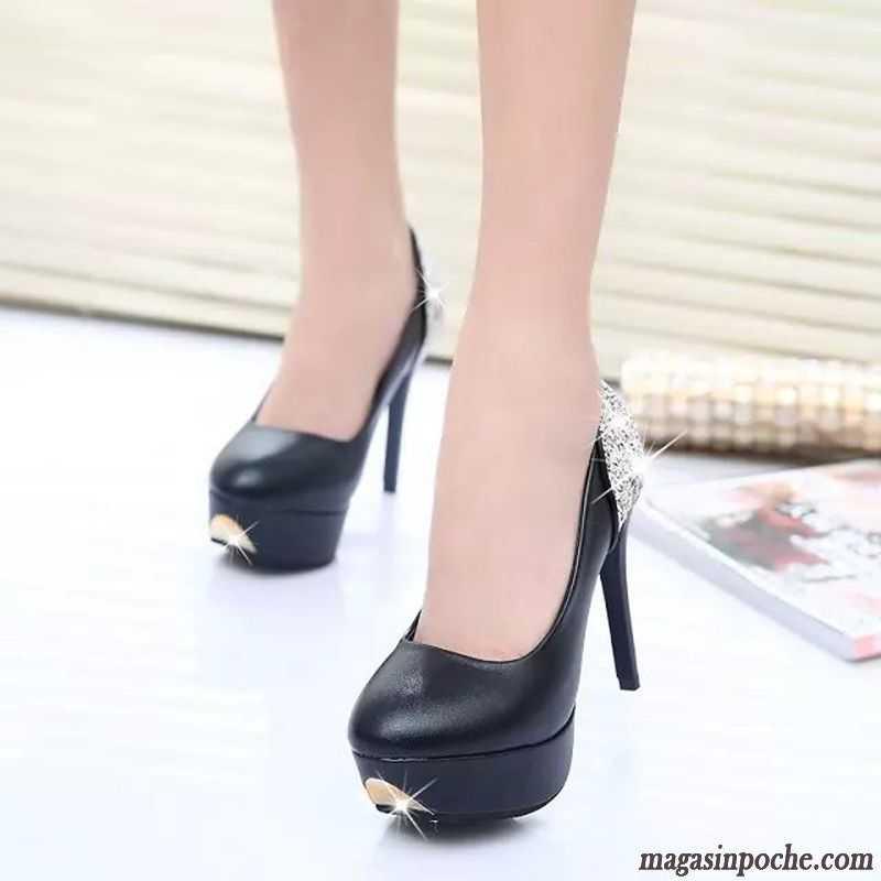 Chaussures Büse argentées Sexy femme 4tH6zN9M