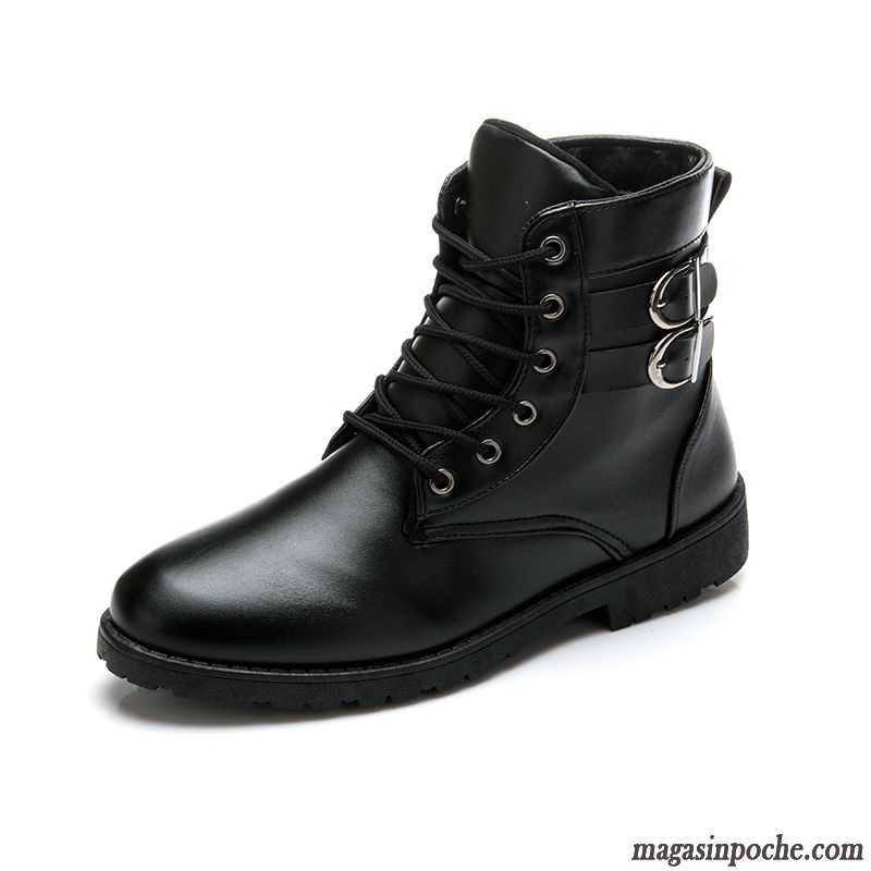 bottes noir et blanche homme hautes homme tendance plus de velours rose. Black Bedroom Furniture Sets. Home Design Ideas