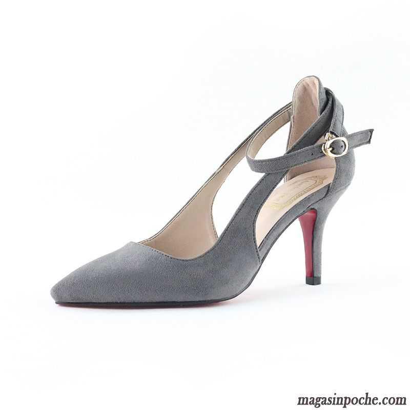 bottines femme petit talon femme l 39 automne talons minces printemps tendance chaussures de. Black Bedroom Furniture Sets. Home Design Ideas