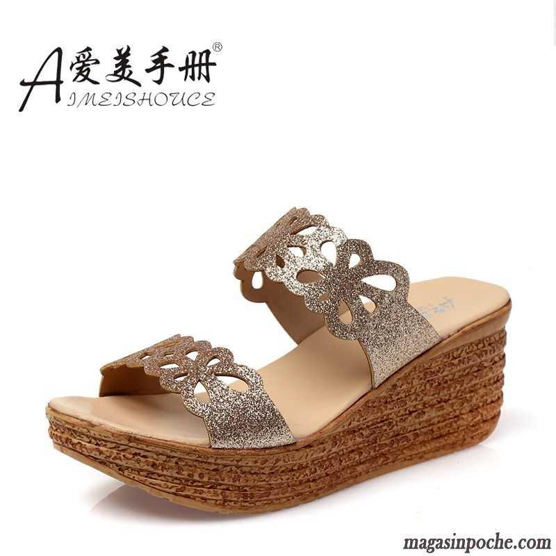 sandales pour femme pas cher chaussures sur magasin poche. Black Bedroom Furniture Sets. Home Design Ideas