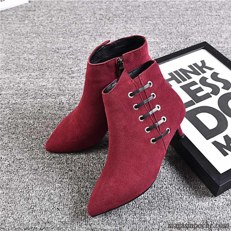 Bottes Pour Femme Pas Cher Chaussures Sur Magasin Poche