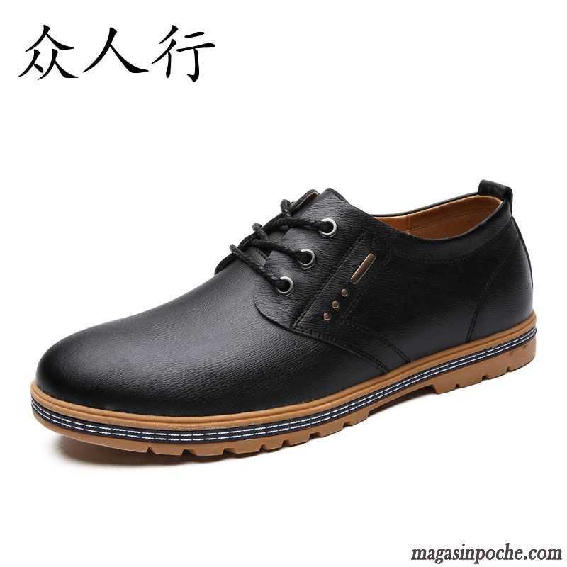 Chaussures automne noires Casual unisexe Kcqip