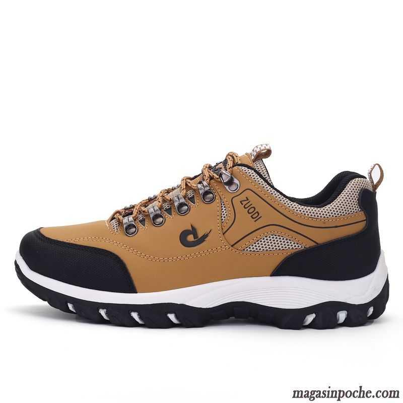 cf65ff3b6a3f56 Chaussure De Sport Noir Basse Chaussures De Randonnée Grande Taille Homme  Chaussures De Course Antidérapant De Plein Air ...