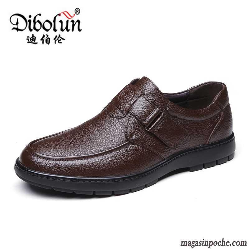 chaussures en cuir pour homme pas cher chaussures sur magasin poche. Black Bedroom Furniture Sets. Home Design Ideas