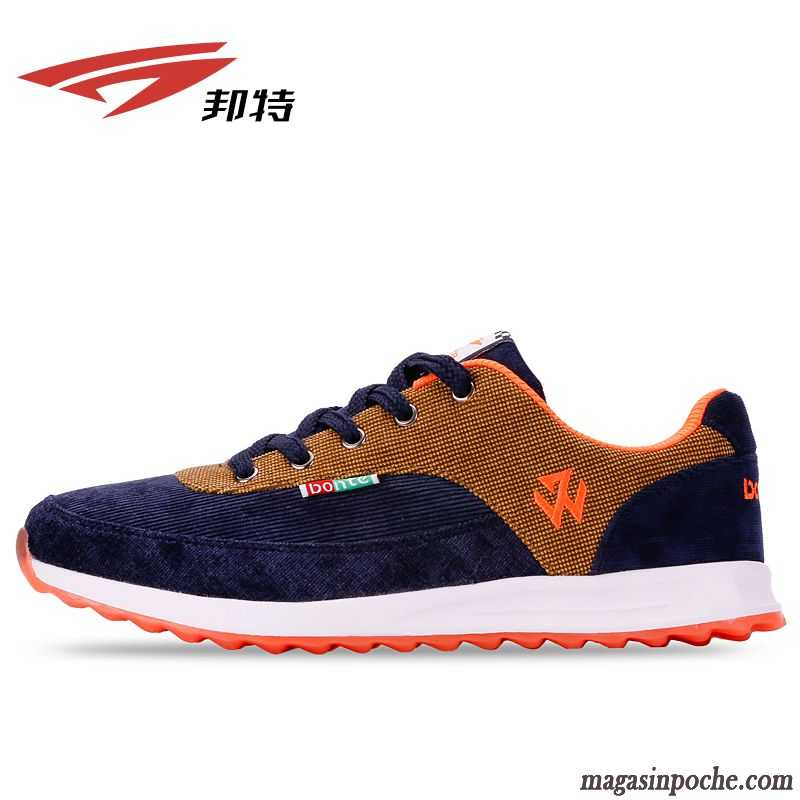 Les chaussures de sport Hommes, chaussures de sport Angleterre chaussures respirant, jaune 43