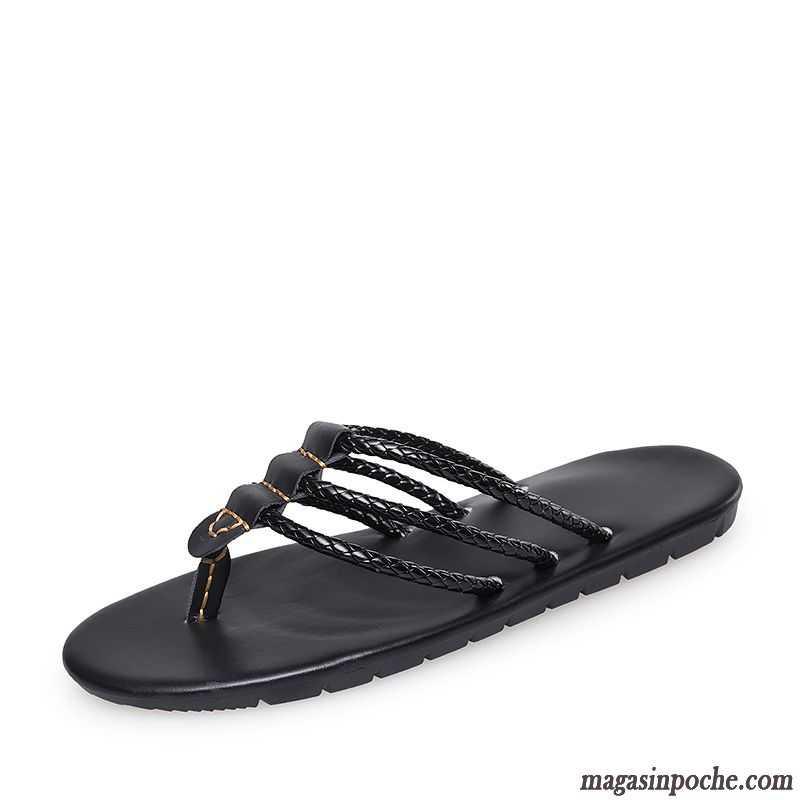 chaussure homme en cuir homme sandales tendance l 39 automne. Black Bedroom Furniture Sets. Home Design Ideas