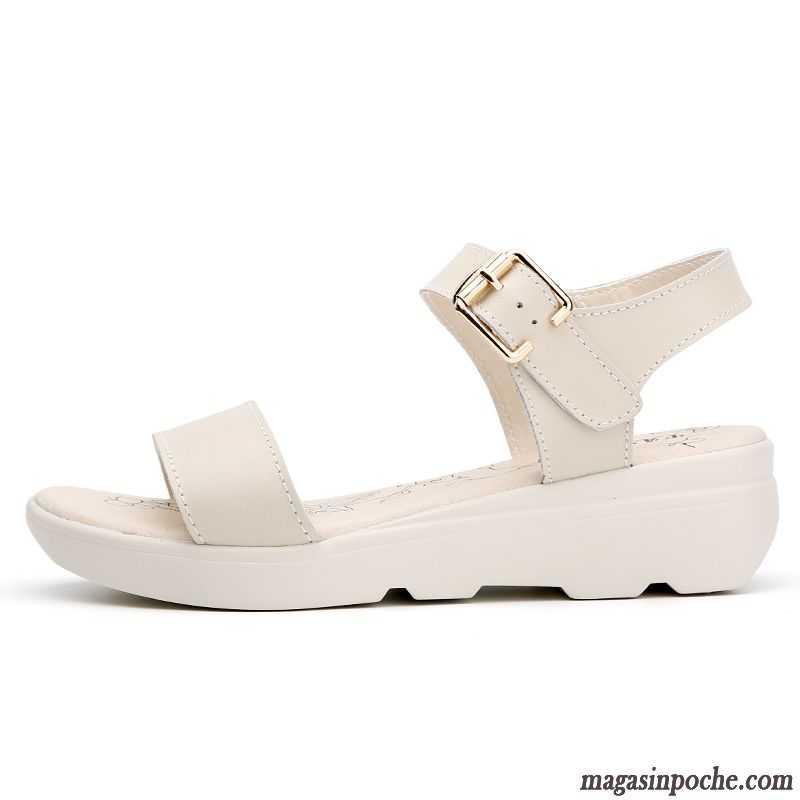 Pas Femme Cher Élève Sandales Plates Confort Chaussures 3LS5Rc4qAj
