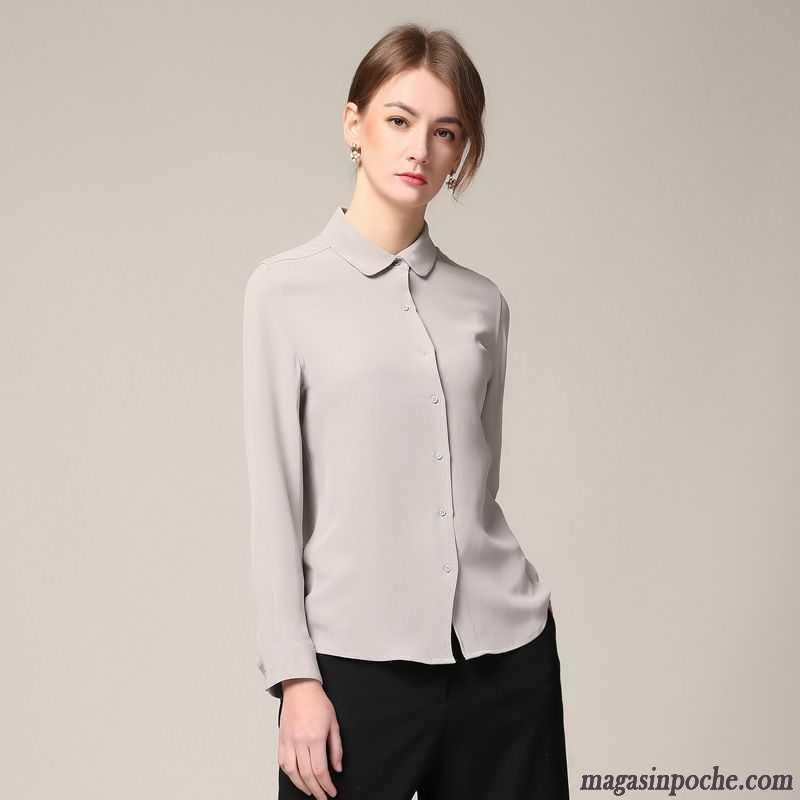 chemise blanche manche courte femme femme blanc chemise manches longues une veste printemps slim. Black Bedroom Furniture Sets. Home Design Ideas