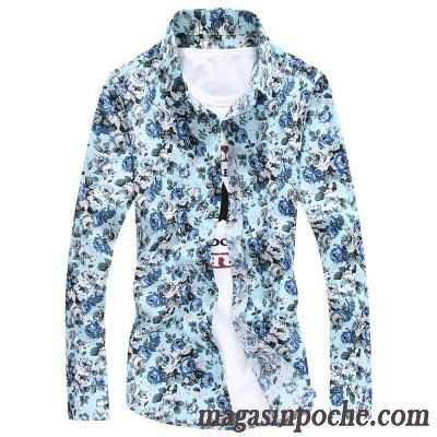 Chemise Homme Promo Manches Longues Chemise Homme Taillissime Neige