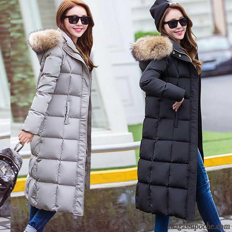 Manteau doudoune femme avec capuche