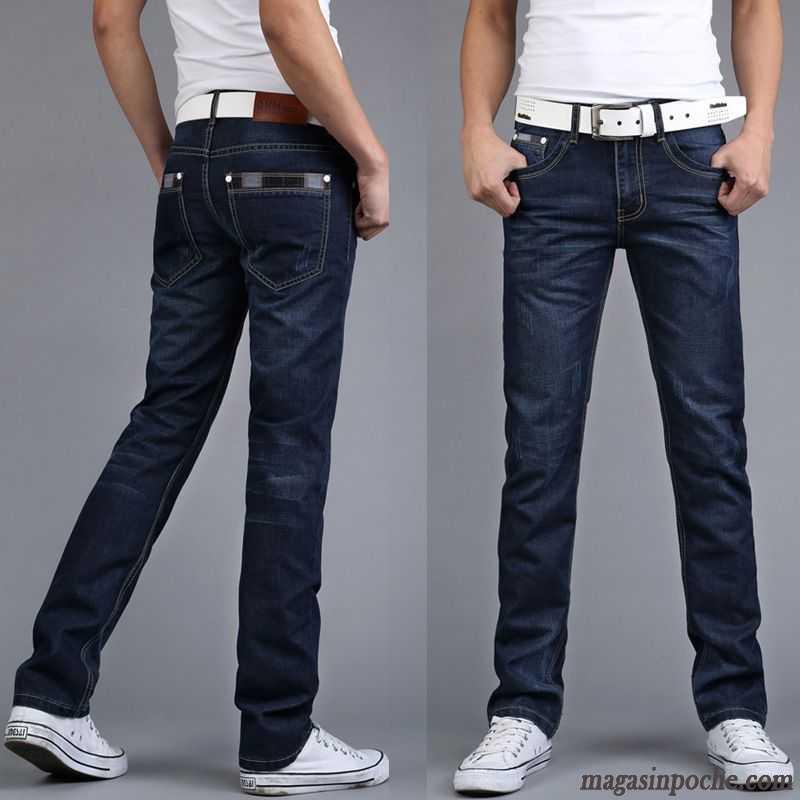 Pantalon Homme Jean Homme Pantalon Pantalon Jean Bleu Bleu c3ul1FTKJ