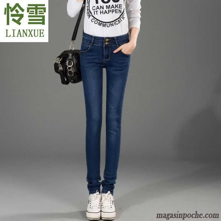 Jean Droit Femme Taille Haute Printemps Extensible Pantalon Pantalons  Crayon L automne Femme Tendance Slim Mince Bordeaux 51c91389abde