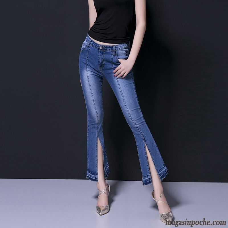 trouver pantalon taille haute taillissime jeans mince slim femme extensible moulant pantalons. Black Bedroom Furniture Sets. Home Design Ideas