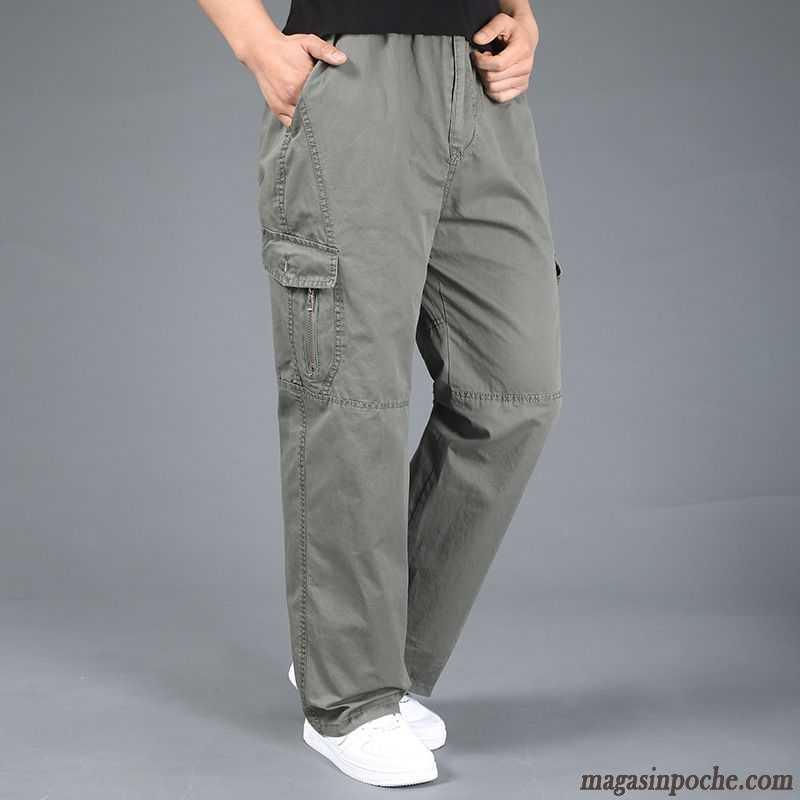 pantalon militaire homme pantalons d contract s sport tendance maigre l 39 automne et l 39 hiver homme. Black Bedroom Furniture Sets. Home Design Ideas