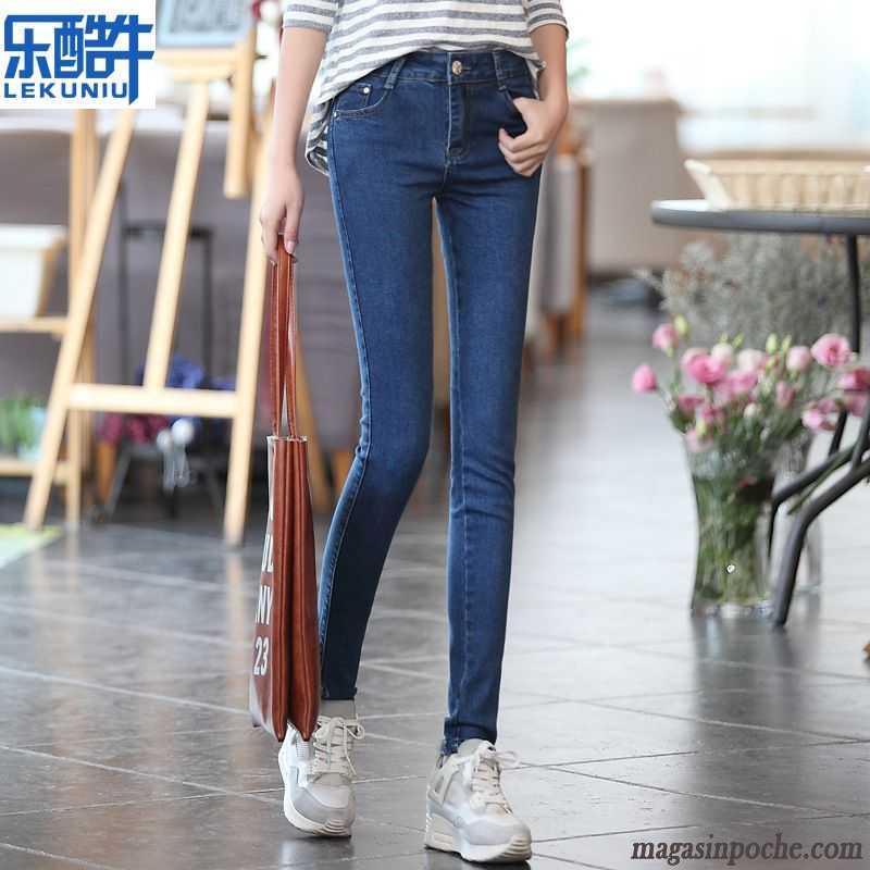 jean slim femme taille basse slim jeans mince extensible. Black Bedroom Furniture Sets. Home Design Ideas