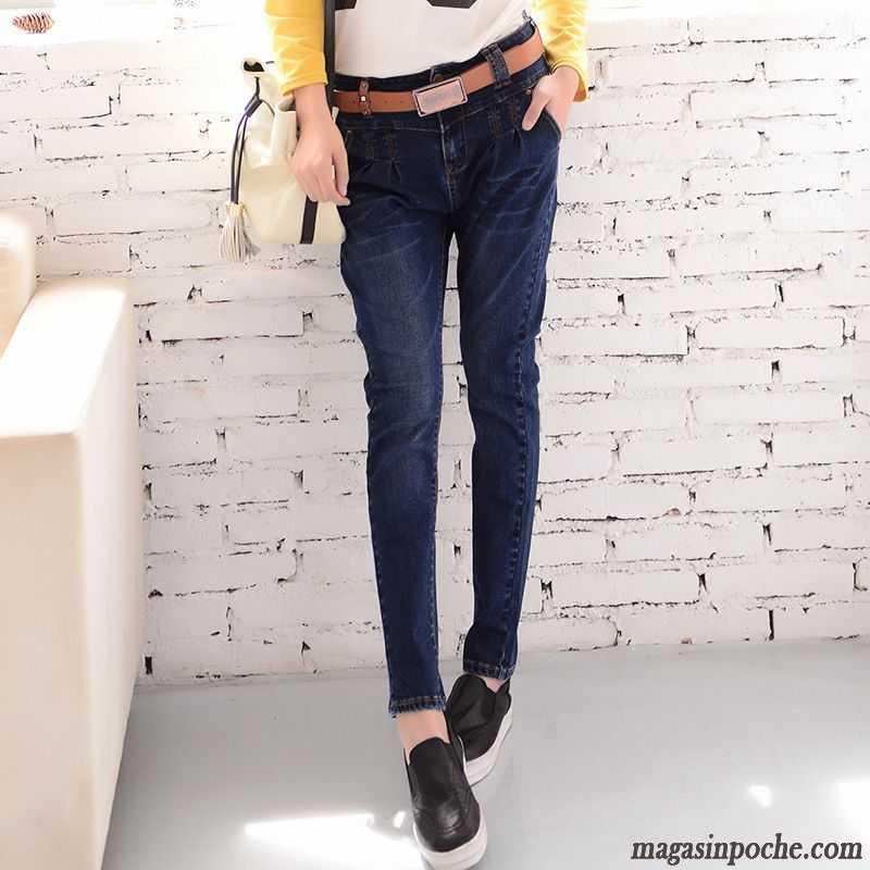 jean femme blanc pantalon lastique taillissime mince jambe droite jeans dame harlan slim femme. Black Bedroom Furniture Sets. Home Design Ideas