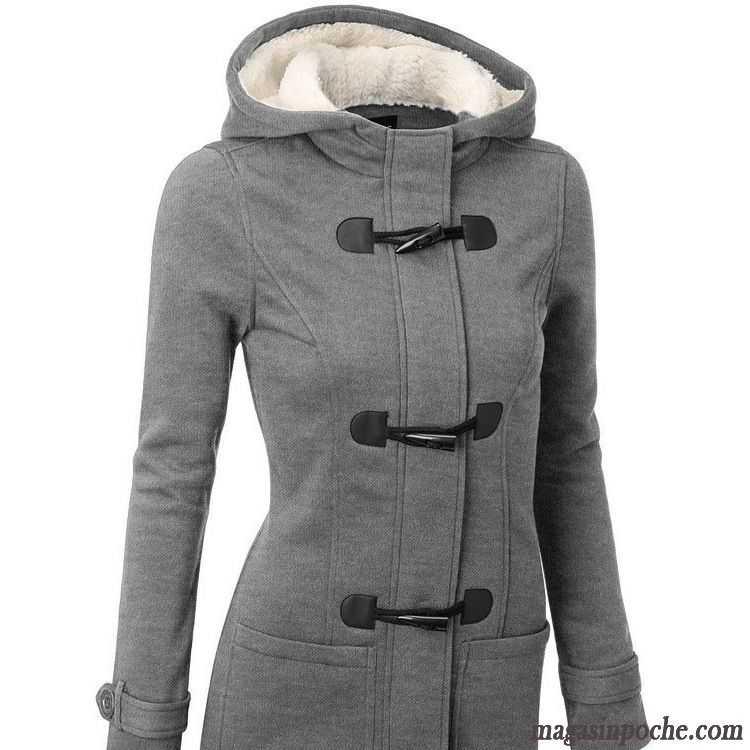 veste femme mi saison mince la laine femme longue l. Black Bedroom Furniture Sets. Home Design Ideas
