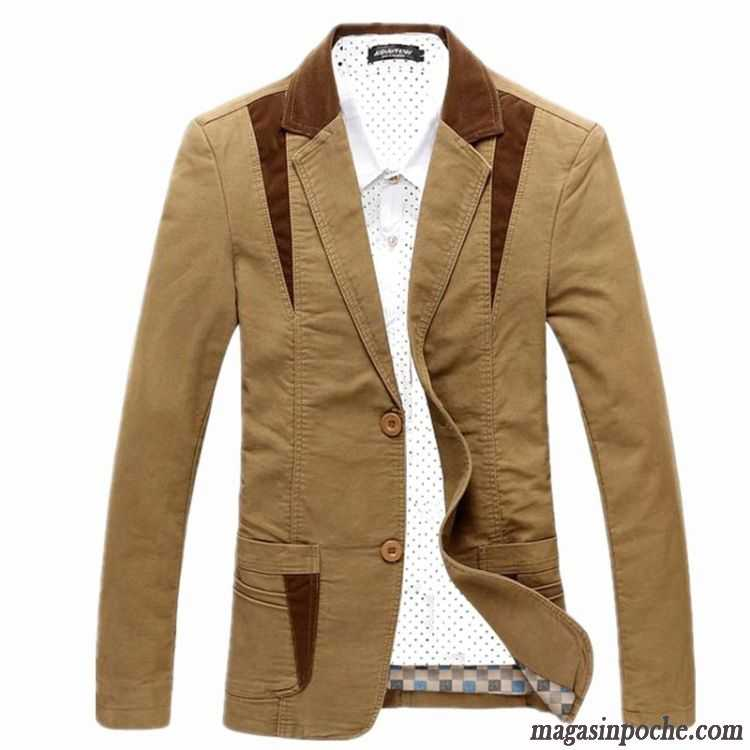 Veste cuir blanche homme